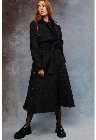 MIAU by Clara Rotescu Storm steppelt trenchcoat megkötővel női