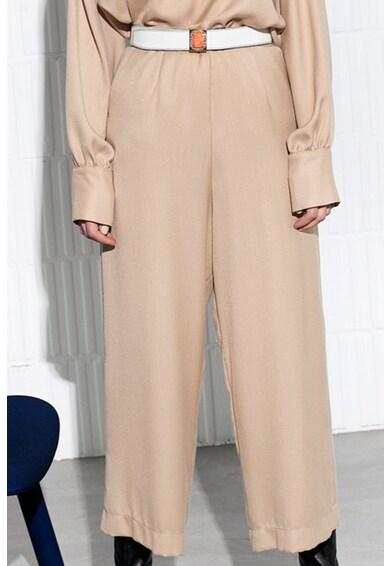 Manuri Pantaloni crop cu croiala ampla Paola Femei
