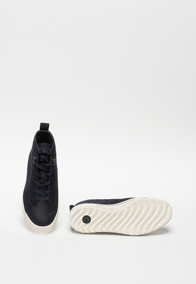 Tamaris Pantofi sport inalti din piele nabuc Femei