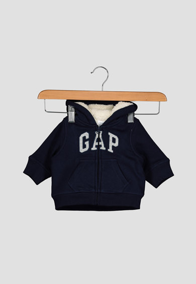 GAP Kapucnis pulóver hímzett logóval Fiú