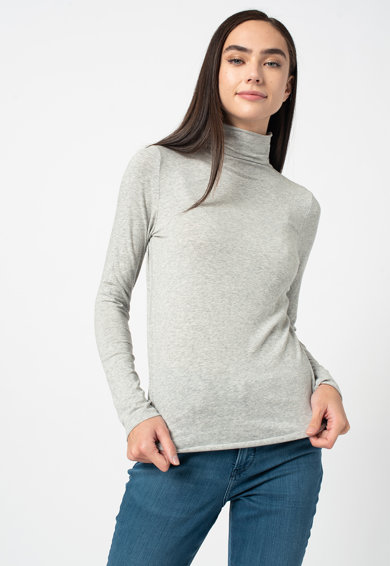 GAP Modáltartalmú felső magas gallérral női