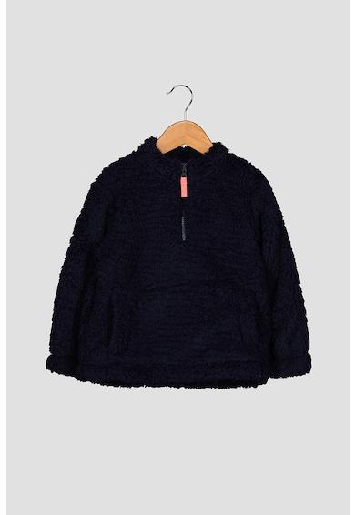 GAP Bolyhos pulóver cipzáros hasítékkal Lány