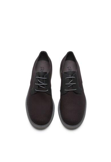 Camper Texturált derby cipő bőrszegélyekkel férfi