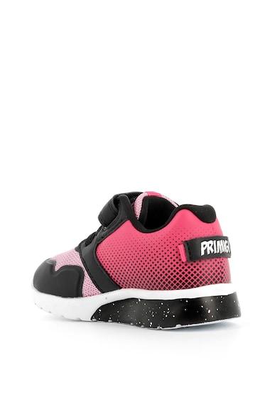 Primigi Pantofi sport din piele cu insertii din plasa Fete