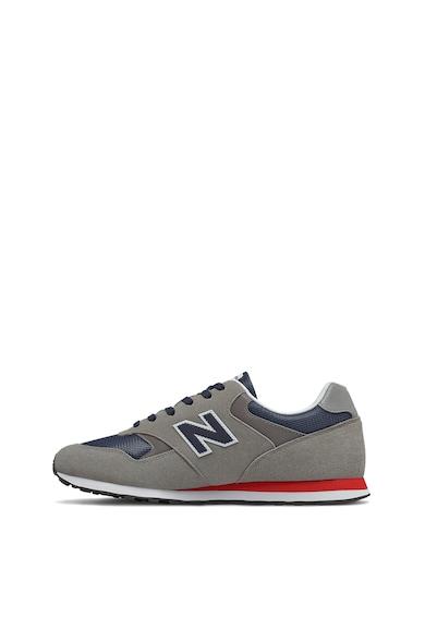 New Balance 393 nyersbőr sneaker hálós anyagbetétekkel férfi