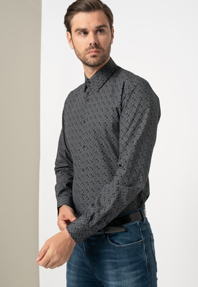 Karl Lagerfeld Modern fit logós ing férfi