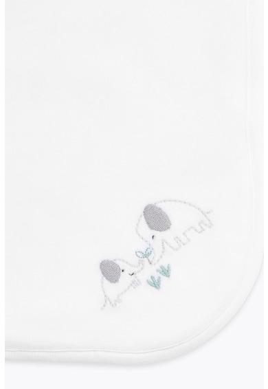 Marks & Spencer Organikuspamut-tartalmú takaró hímzett részlettel Fiú