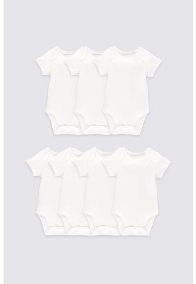 Marks & Spencer Set de body-uri de bumbac - 7 piese Fete