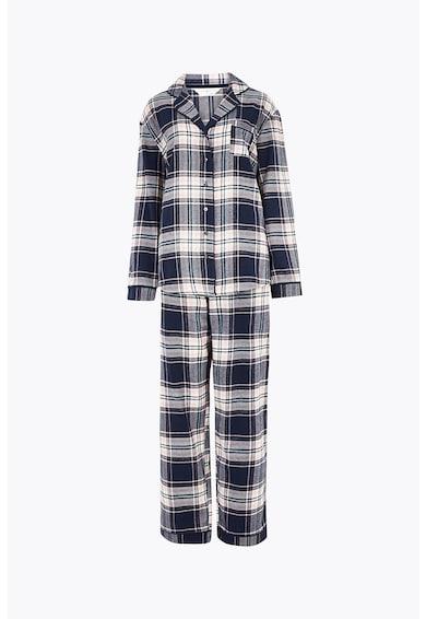 Marks & Spencer Kockás pizsama mellzsebbel női