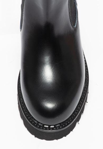 Karl Lagerfeld Ghete Chelsea de piele Troupe Femei