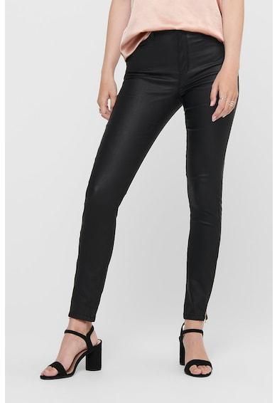 Only Pantaloni peliculizati cu buzunare cu fermoar Femei