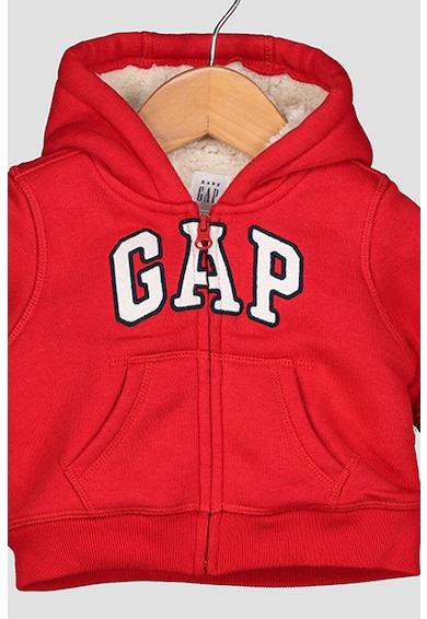 GAP Kapucnis pulóver hímzett logóval Lány