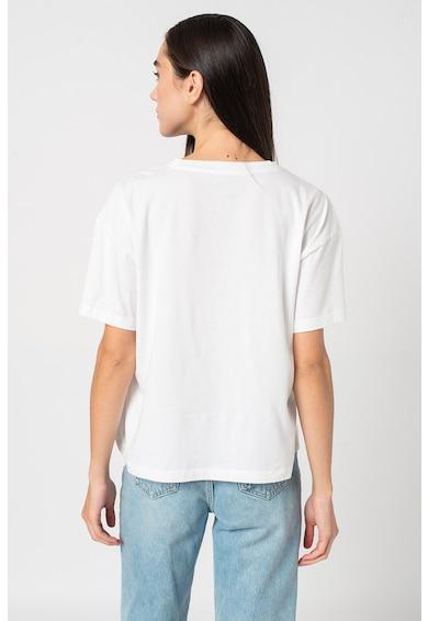 GAP Tricou cu decolteu rotund si imprimeu logo Femei