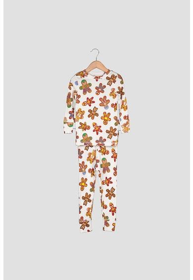 GAP Mintás pizsama hosszú ujjú felsővel Lány