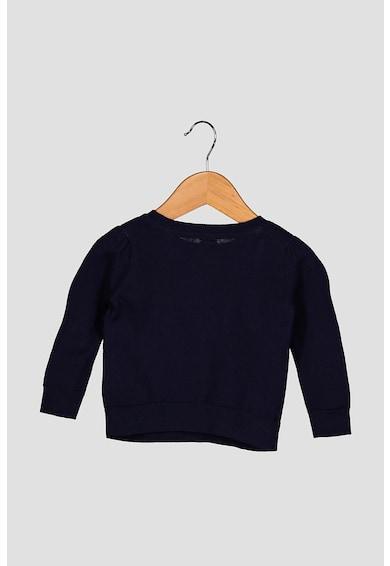 GAP Finomkötött pulóver szivárványos mintával Lány