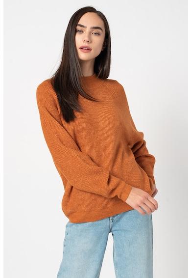 GAP Bő fazonú pulóver texturált hatással női