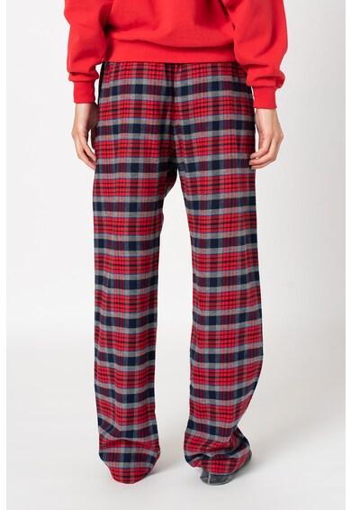 GAP Pantaloni de pijama in carouri cu snur Femei
