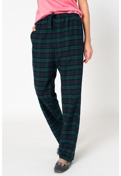 GAP Mintás pizsamanadrág megkötővel a derékrészen női