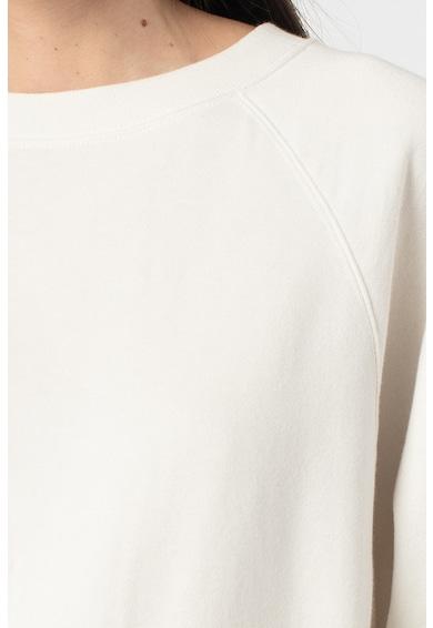 GAP Bluza sport cu decolteu la baza gatului si maneci raglan Femei