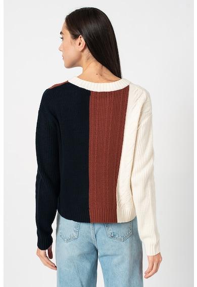 Banana Republic Gyapjútartalmú kötött pulóver colorblock dizájnnal női