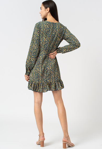 Missguided Bővülő fazonú virágmintás ruha női