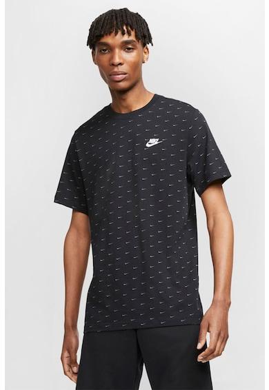 Nike Tricou cu imprimeu logo Mini Swoosh Barbati