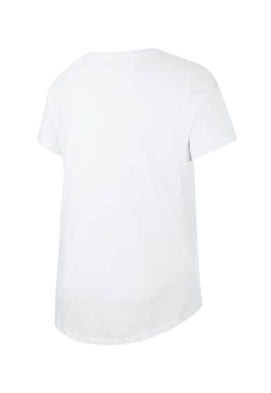 Nike Kerek nyakú póló lekerekített alsó szegéllyel női