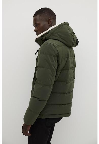 Mango Coty pihével bélelt télikabát férfi