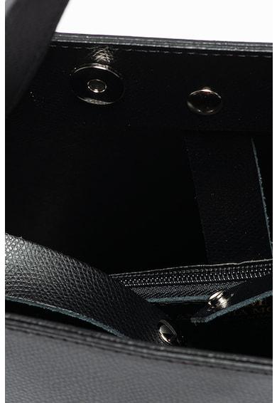 Antonia Moretti Tote fazonú műbőr táska logós kiegészítővel női