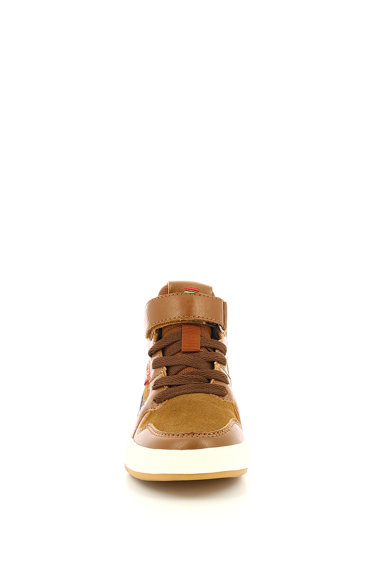 Kickers kids Gready nyersbőr és műbőr sneaker Lány