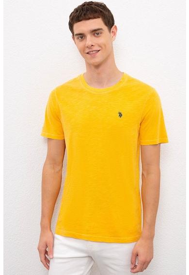 U.S. Polo Assn. Kerek nyakú normál fazonú póló férfi