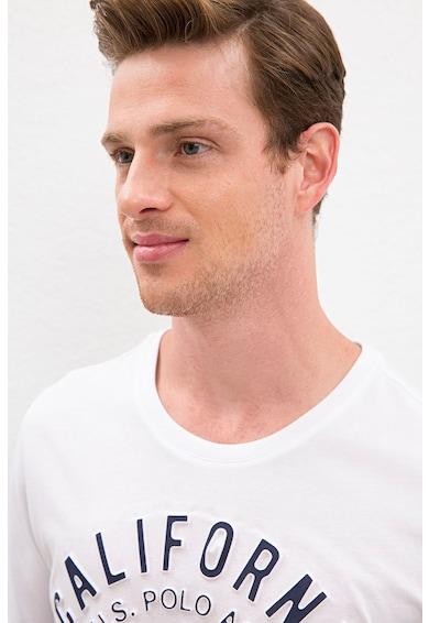 U.S. Polo Assn. Yeats feliratos póló logóval férfi