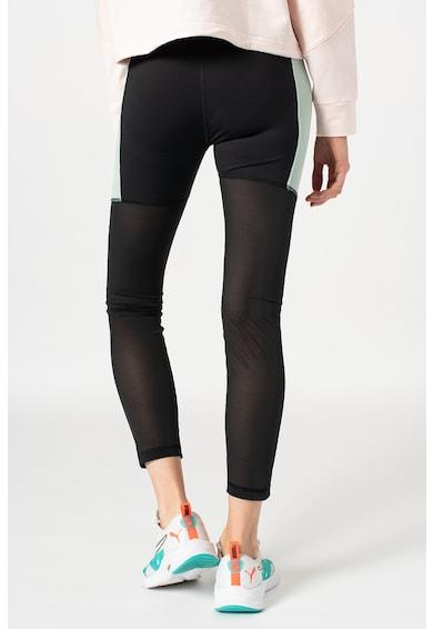 Puma Fitnesz leggings hálós anyagú szegélyekkel női