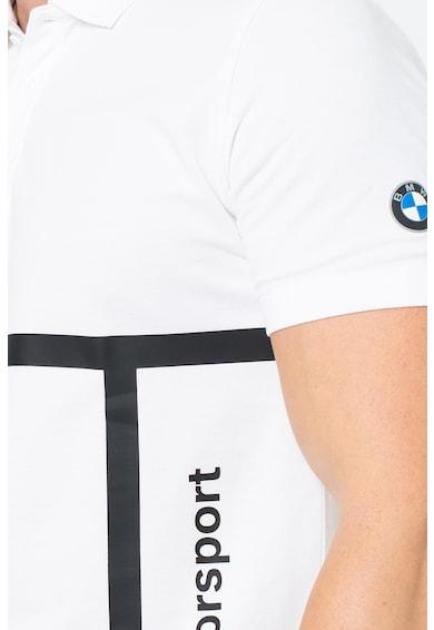 Puma BMW Motorsport galléros póló logómintával férfi