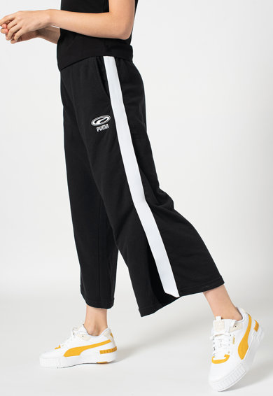 Puma Pantaloni sport culotte crop cu slituri laterale OG Femei
