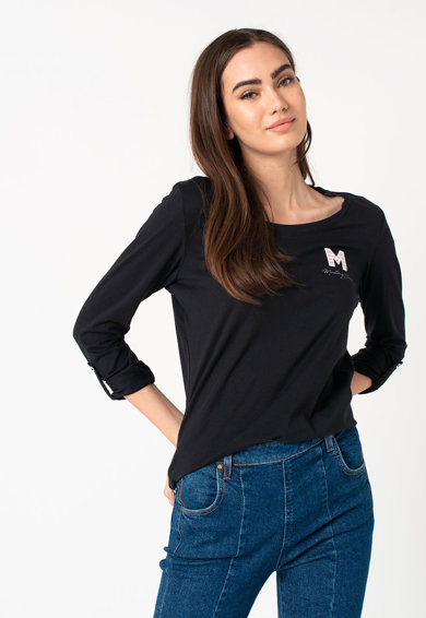 Mustang Bluza cu monograma brodata Anne Femei