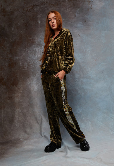 MIAU by Clara Rotescu Mikonos nadrág és kapucnis felső szett női