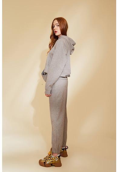 MIAU by Clara Rotescu Malaga nadrág és kapucnis felső szett női