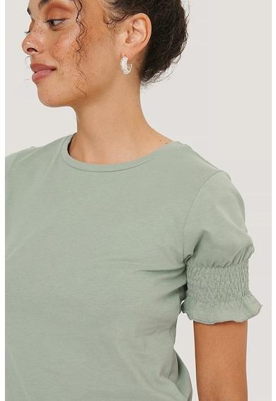 NA-KD Puffos ujjú organikuspamut póló női