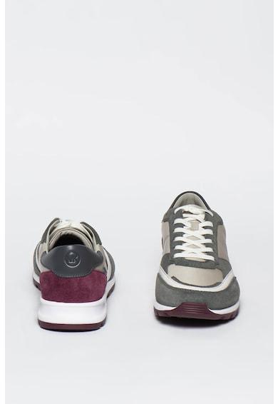 Michael Kors Liam nyersbőr és textil sneaker férfi