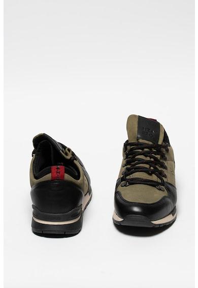 New Zealand Auckland Cheviot sneaker bőr betétekkel férfi