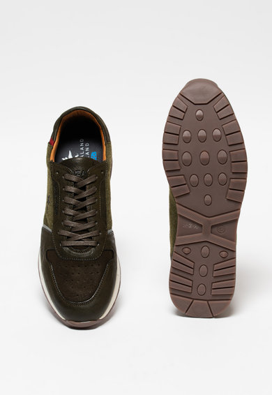 New Zealand Auckland Kurow bőr sneaker férfi