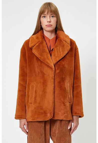KOTON Bő fazonú műszőrme kabát női