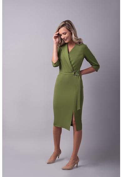 Couture de Marie Átlapolt ruha oldalhasítékkal női