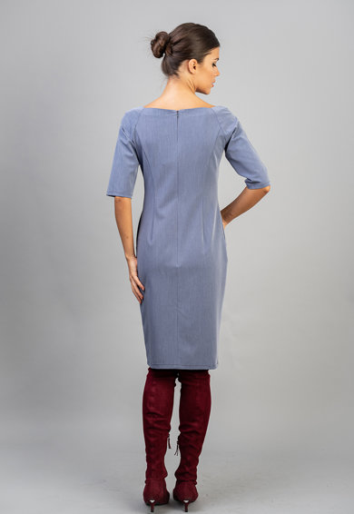 Couture de Marie Rochie cu decolteu patrat Femei