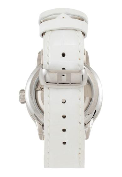 Tissot Powermatic 80 bőrszíjas automata karóra gyöngyházfényű számlappal női