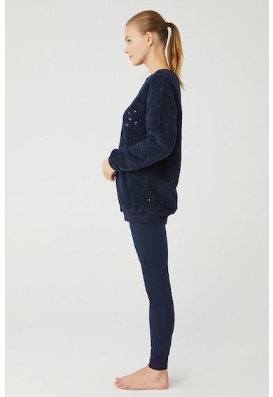 U.S. Polo Assn. Pizsama bolyhos felsővel női