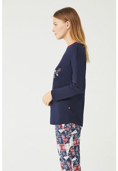 U.S. Polo Assn. Mintás pizsama női