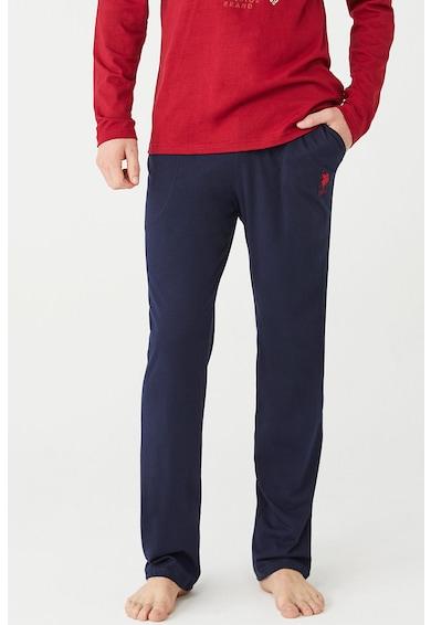 U.S. Polo Assn. Pijama cu imprimeu logo Barbati