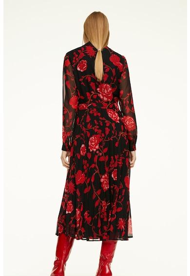 comma, Virágmintás ruha hajtásokkal női